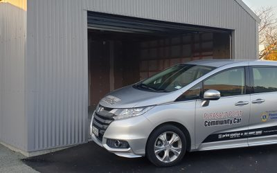 A new home for Pleasant Point vehicle
